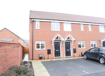 Thumbnail 2 bed end terrace house for sale in Culture Close, Melton Mowbray
