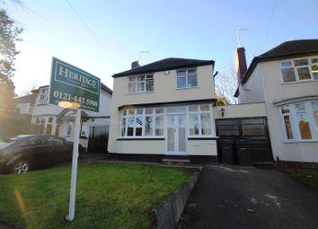 Thumbnail 3 bedroom link-detached house for sale in Billesley Lane, Moseley, Birmingham
