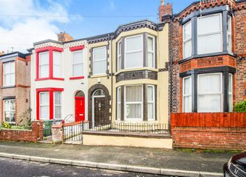Thumbnail 4 bed terraced house for sale in Seafield Road, New Ferry, Wirral