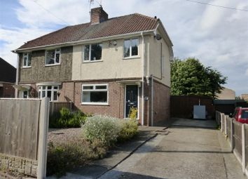 Thumbnail 3 bed semi-detached house for sale in Storth Avenue, Hucknall, Nottingham