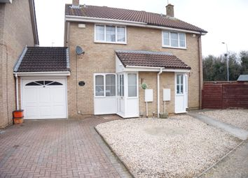 Thumbnail 2 bed semi-detached house for sale in Betony Close, Swindon