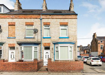 Thumbnail 3 bed end terrace house for sale in Prospect Road, Scarborough, North Yorkshire