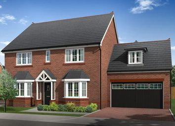 Thumbnail 5 bedroom detached house for sale in Plot 9 And 10, Biddulph Road, Congleton, Cheshire