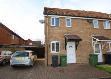 Thumbnail 2 bed end terrace house for sale in Thorpe Drive, Attleborough