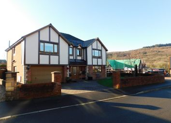 Thumbnail 4 bed detached house for sale in Nant Celyn, Crynant, Neath, Neath Port Talbot.