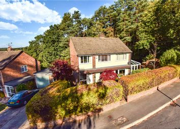Thumbnail 4 bed detached house for sale in Diamond Ridge, Camberley, Surrey