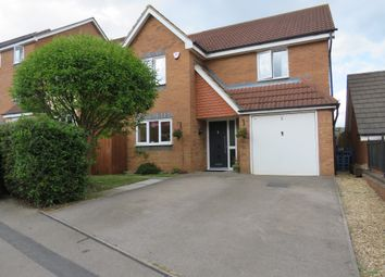 Thumbnail 4 bed detached house for sale in Violet Close, Corby