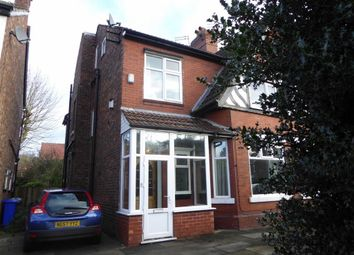 Thumbnail 5 bed semi-detached house for sale in Orchard Road East, Manchester