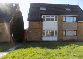 Thumbnail 3 bed semi-detached house to rent in Brierley Hill, West Midlands
