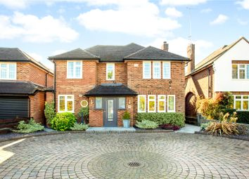 Thumbnail 4 bed detached house for sale in Tippendell Lane, Park Street, St. Albans, Hertfordshire