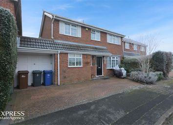 Thumbnail 4 bed link-detached house for sale in Park Road, Barton Under Needwood, Burton-On-Trent, Staffordshire