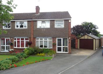 3 bed semi-detached house for sale in Ashfield Drive, Anstey, Leicester LE7