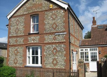 Thumbnail 3 bedroom semi-detached house to rent in Station Road, East Rudham, King's Lynn