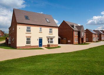 "Thumbnail 5 bedroom detached house for sale in ""Moorecroft"" at Carters Lane, Kiln Farm, Milton Keynes"