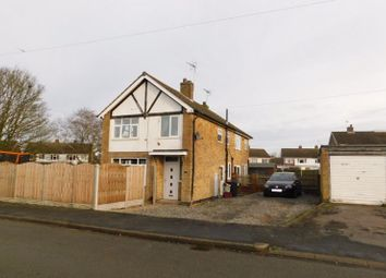 Thumbnail 3 bed semi-detached house for sale in Tiverton Avenue, Whitwick, Coalville
