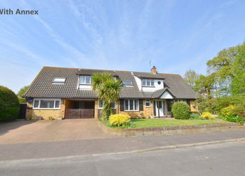 Thumbnail 5 bed detached house for sale in Church Close, Trunch, North Walsham