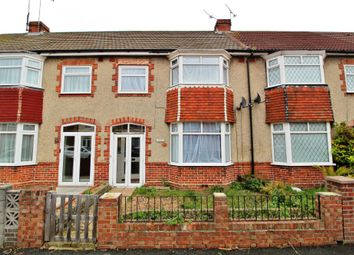 Thumbnail 3 bedroom terraced house for sale in Rosebery Avenue, Cosham, Portsmouth