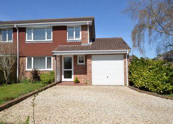 Thumbnail 3 bed semi-detached house for sale in Elvin Close, Hordle, Lymington