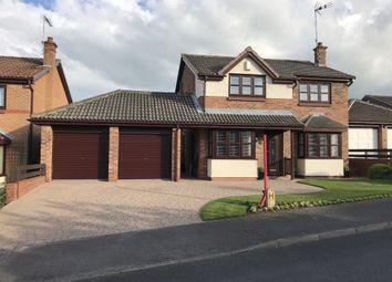 Thumbnail 4 bedroom detached house for sale in Carrock Close, Peterlee