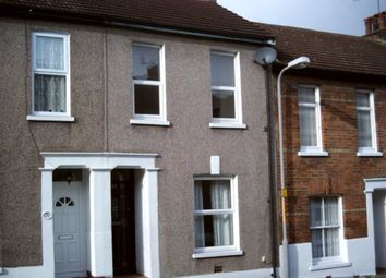 Thumbnail 3 bedroom terraced house to rent in Clarendon Road, Gravesend