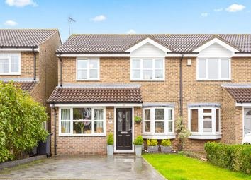 Thumbnail 3 bed semi-detached house for sale in Foxes Close, Hertford