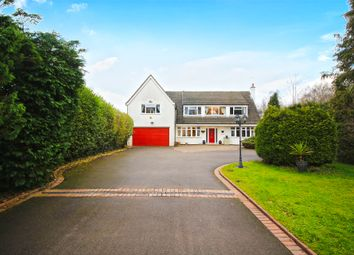 Thumbnail 5 bed detached house for sale in The Fordrough, Truemans Heath Lane, Shirley, Solihull