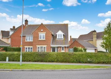 Thumbnail 4 bed detached house for sale in Woodlands Park Drive, Dunmow