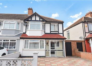Thumbnail End terrace house for sale in Almond Way, Mitcham, Surrey