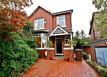 Thumbnail 4 bed semi-detached house for sale in Langley Road, Prestwich, Manchester