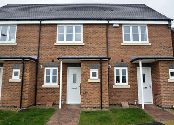 Thumbnail 2 bed semi-detached house to rent in Outlands Drive, Outlands Croft, Hinckley, Leicestershire