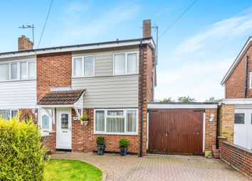 Thumbnail 3 bedroom semi-detached house for sale in Bents Close, Clapham, Bedford