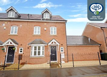 Thumbnail 4 bed end terrace house for sale in Jefferson Way, Bannerbrook Park, Coventry