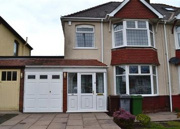 Thumbnail 3 bedroom semi-detached house for sale in Oxbarn Avenue, Bradmore, Wolverhampton