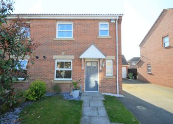 Thumbnail 3 bed semi-detached house for sale in 3 Caspian Crescent, Grimsby
