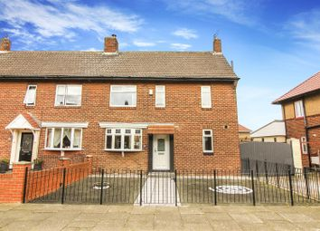 Thumbnail 3 bed semi-detached house for sale in Elmtree Gardens, Whitley Bay