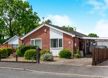 Thumbnail 2 bedroom detached bungalow for sale in Caudle Avenue, Lakenheath, Brandon