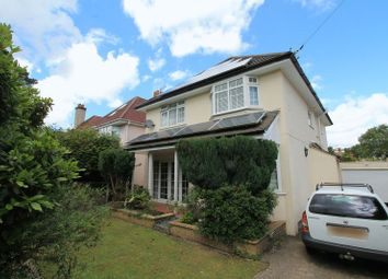 Thumbnail 4 bedroom detached house to rent in Penn Hill Avenue, Poole