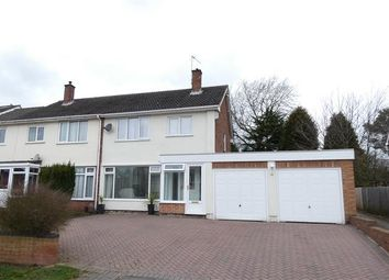 3 bed semi-detached house for sale in Marlpit Lane, Four Oaks, Sutton Coldfield B75