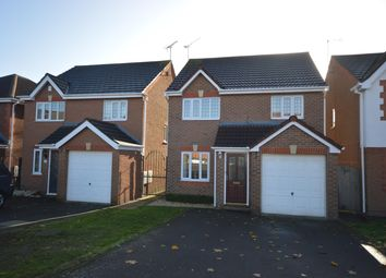 Thumbnail 3 bed detached house for sale in Geary Close, Narborough, Leics