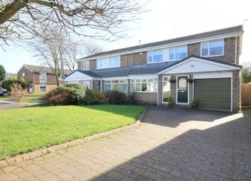 Thumbnail 4 bed semi-detached house for sale in Canterbury Close, Great Lumley, Chester Le Street