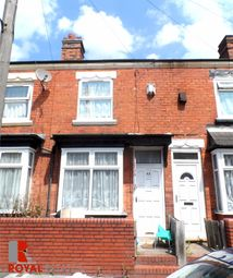 Thumbnail 2 bed terraced house to rent in Markby Road, Birmingham