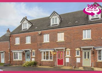 Thumbnail 4 bed terraced house for sale in Buccaneer Grove, St. Brides Wentlooge, Newport