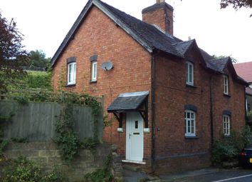Thumbnail 2 bed semi-detached house to rent in Newtown, Market Drayton, Shropshire