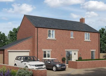 Thumbnail 4 bed detached house for sale in Rokesby Place, Pickhill, Thirsk