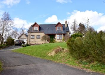 Thumbnail 4 bed detached house for sale in Chesters Brae, Nr Hawick
