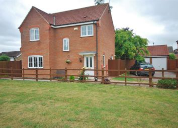 Thumbnail 3 bed detached house for sale in Aldrin Close, Spalding