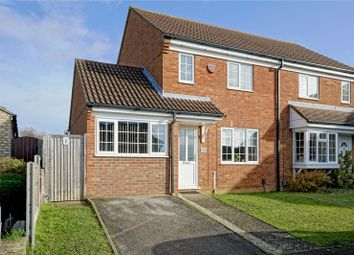 Thumbnail 3 bed flat for sale in Philip Gardens, St. Neots, Cambridgeshire