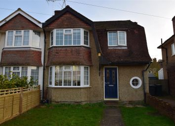 Thumbnail 3 bed semi-detached house to rent in Valentine Crescent, Caversham, Reading