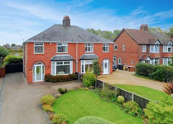 Thumbnail 3 bed semi-detached house for sale in Dig Lane, Wybunbury, Nantwich