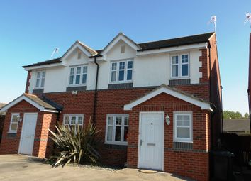 Thumbnail 3 bed semi-detached house for sale in Hutchinson Close, Prenton